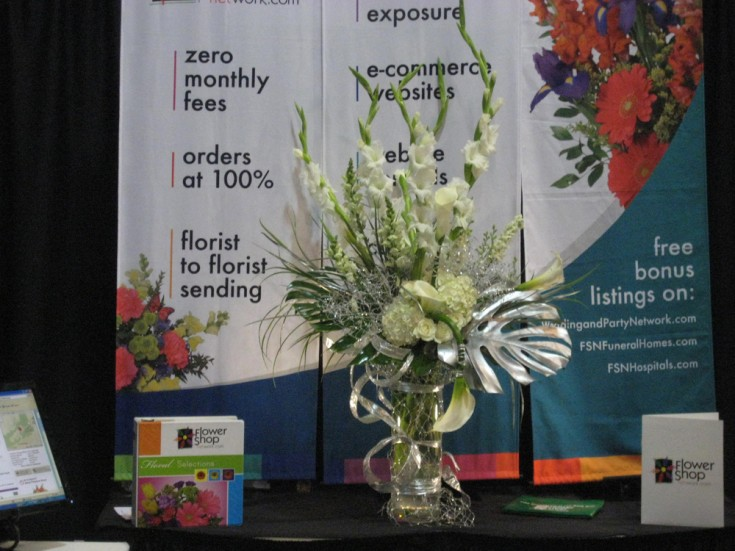 Such a beautiful arrangement for the FSN Booth!
