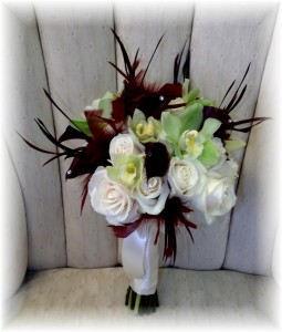 Unique wedding bouquet by MaryJane's Flowers & Gifts, Berlin NJ