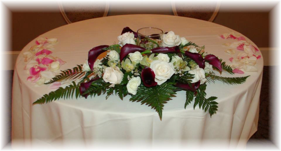 Wedding Centerpiece By Maryjane 39 S Flowers Gifts Berlin NJ