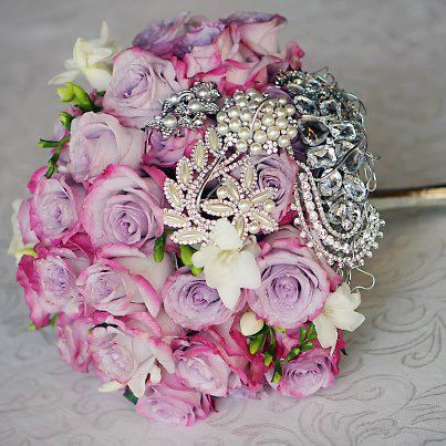Bling bouquet by Sassy Flowers in Rexburg, ID