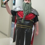 Kyle as an Asgard Gardian