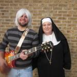 Kurt & the Amy the nun