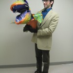 Josh as Seymore from Little Shop of Horrors