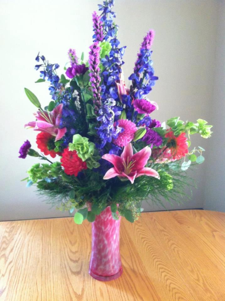 Beautiful flower arrangement by Bev's Floral & Gifts, Parowan UT