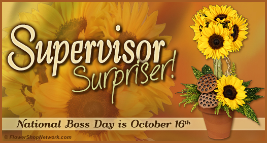 National Bosses Day is October 16th