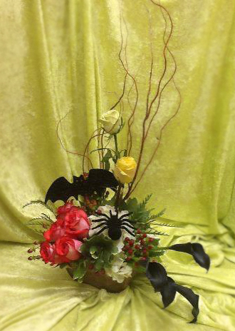 Halloween Flowers by Colleyville Florist, Colleyville TX