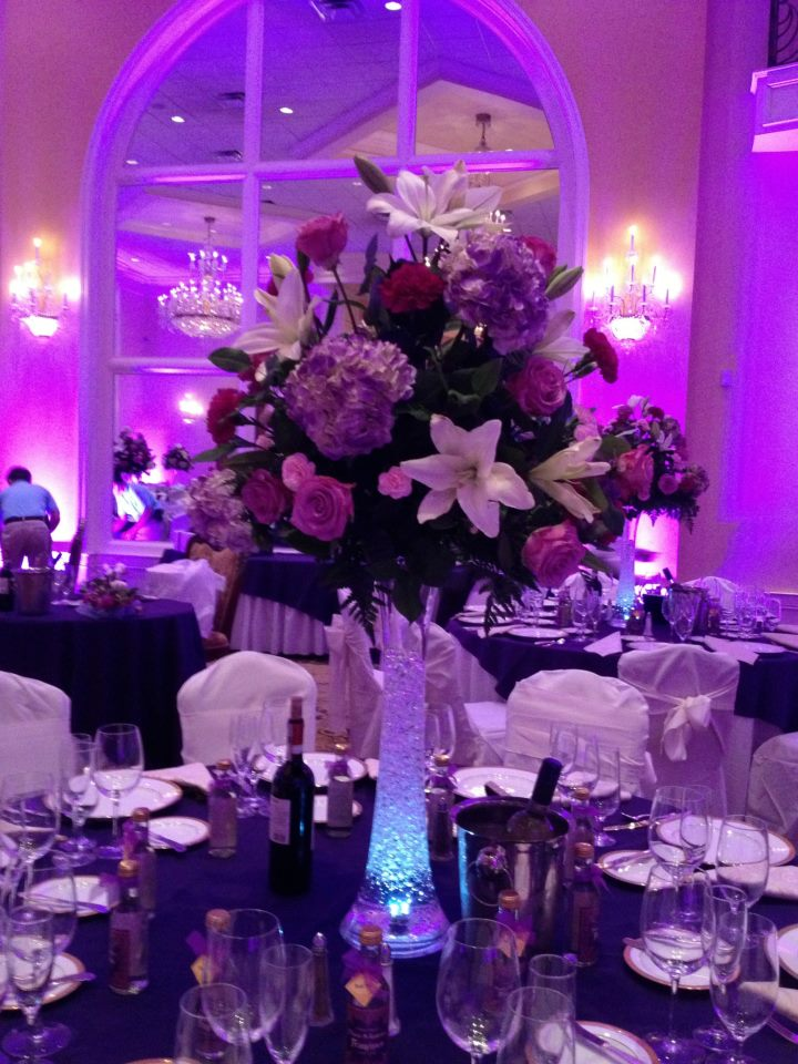Wedding Centerpiece by E & E Flowers, Edison NJ