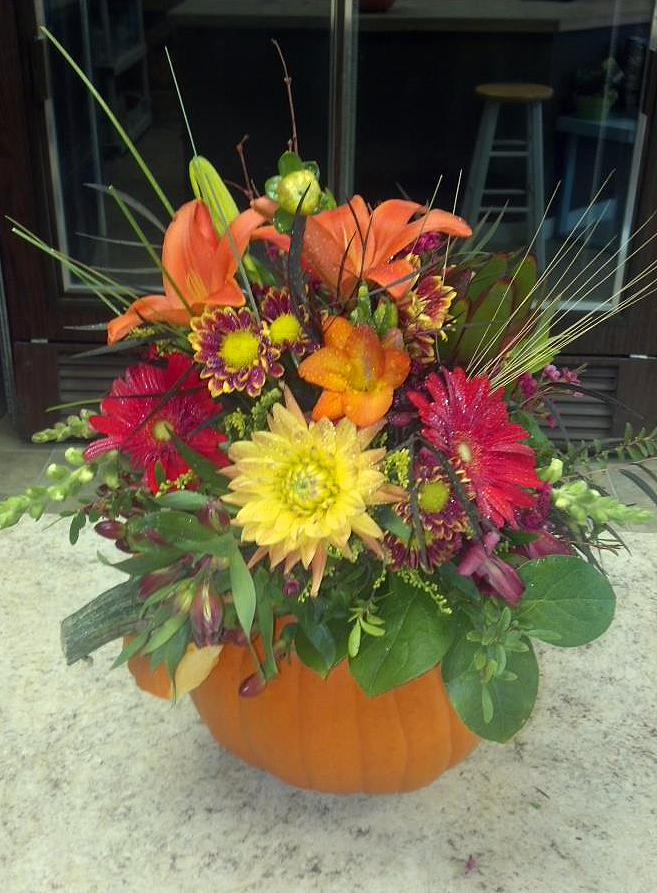 Fall Flowers by Floral Design in Post Falls, ID