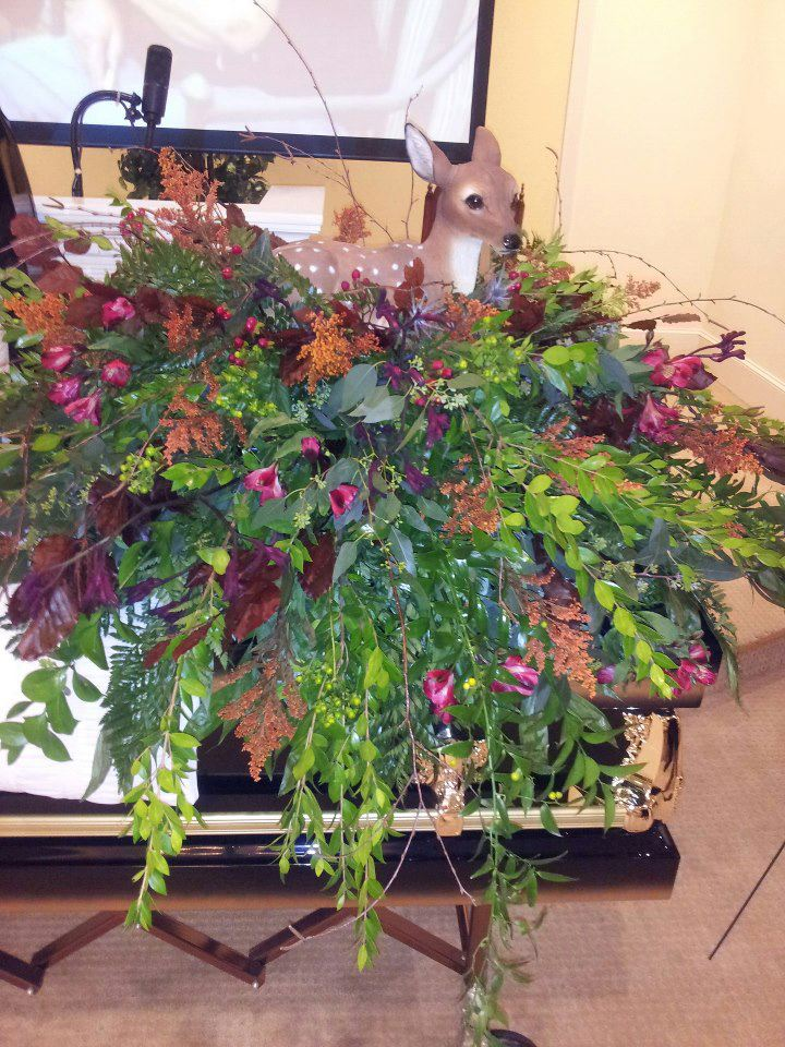 Casket spray by Personal Touch Florist, Galax VA