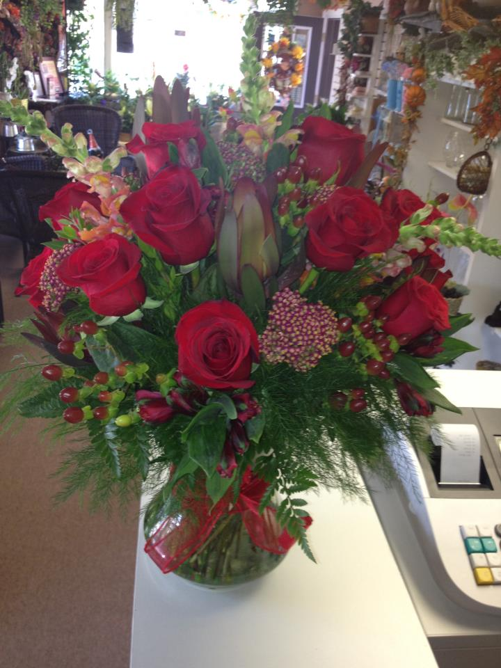 Beautiful Red Roses by The Flower Boutique, Cherry Hill NJ