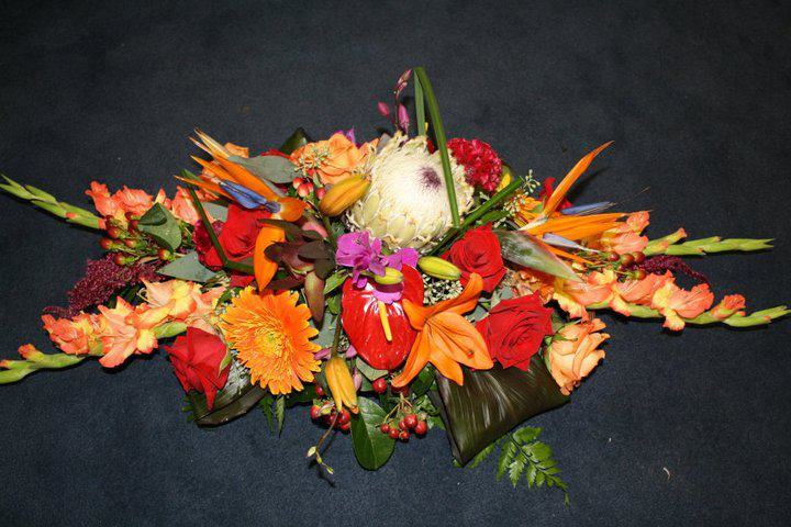 Fall Centerpiece by Flower Boutique