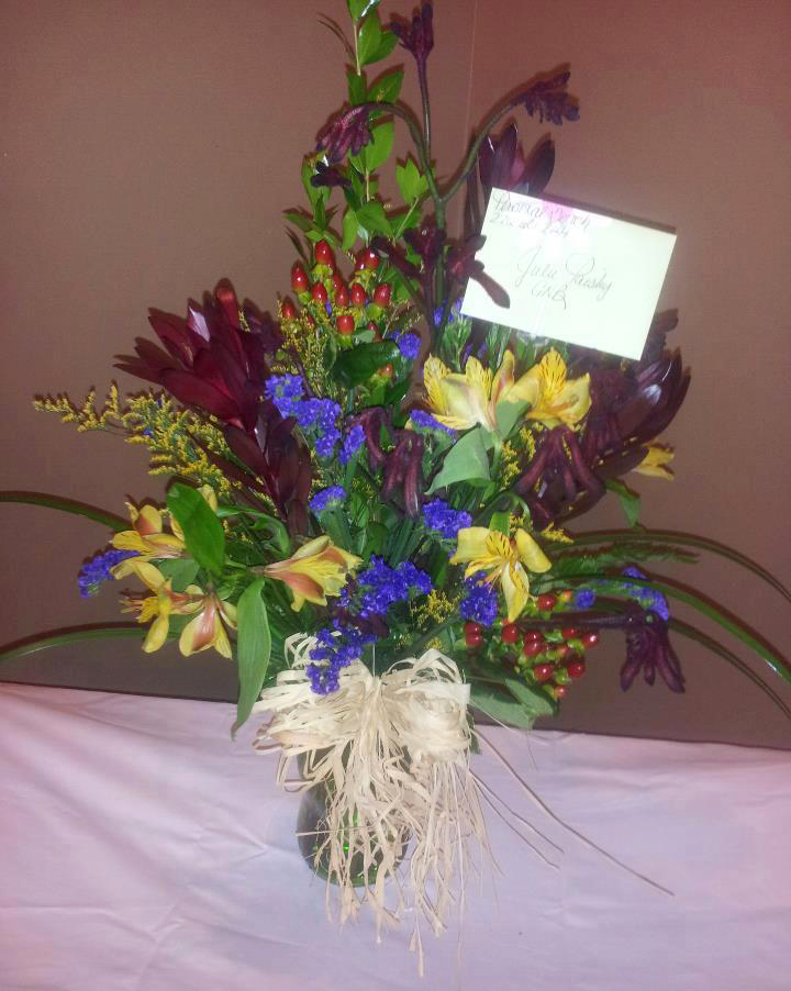 Fall flowers by Personal Touch Florist, Galax VA