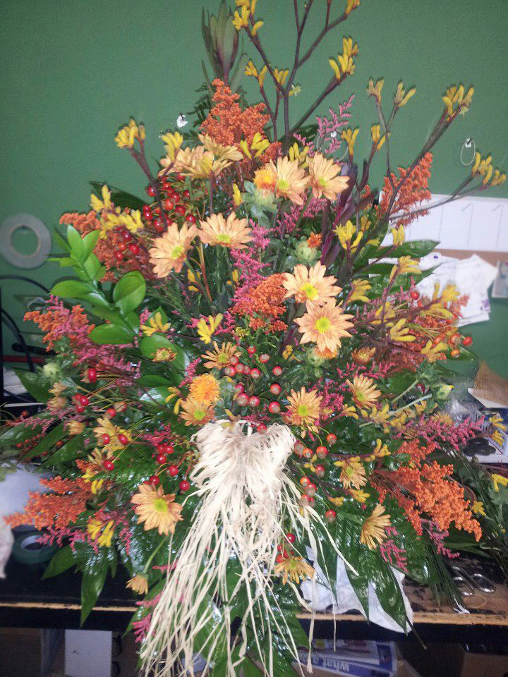 Fall flowers by A Personal Touch Florist, Galax VA