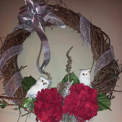 Christmas wreath by Personal Touch Florist, Galax VA