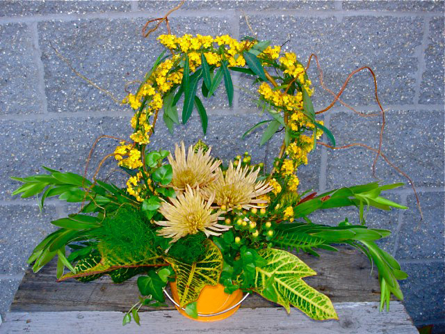 Sunshine Fall Arrangement by The Petal Patch LTD, McFarland WI