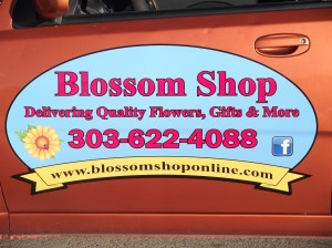 Blossom Shop, Strasburg CO