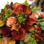 Wedding bouquet by Critser's Flowers & Gifts, Morgantown IN