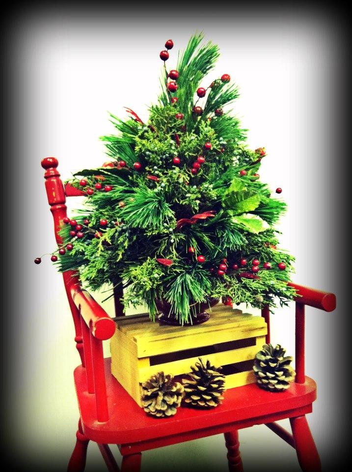 Mini Christmas Tree by Bev's Floral & Gifts, Parowan UT