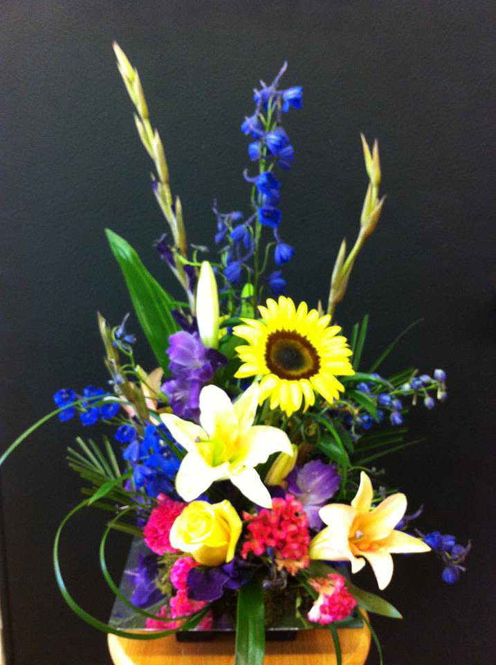 Flower arrangement by Blossoms, Springfield MO