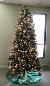 The Front Office's Christmas Tree