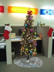 Sales/Customer Service Dept's Christmas Tree