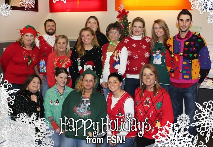 Happy Holidays from FSN!