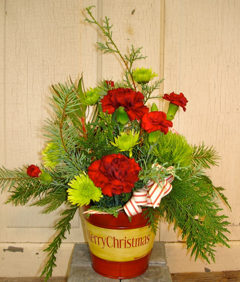 Christmas Flowers By The Petal Patch, McFarland WI ...