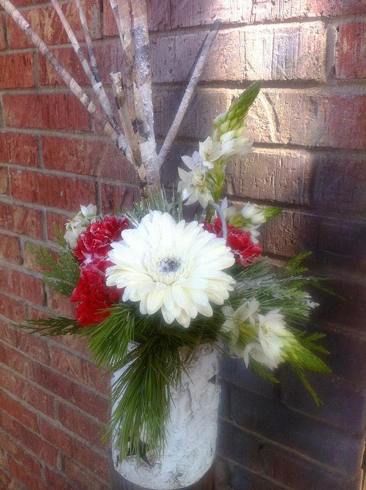 Christmas Flowers by Posey Peddler, Jonesboro AR