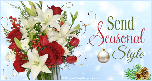 Send December Seasonal Style with Flowers