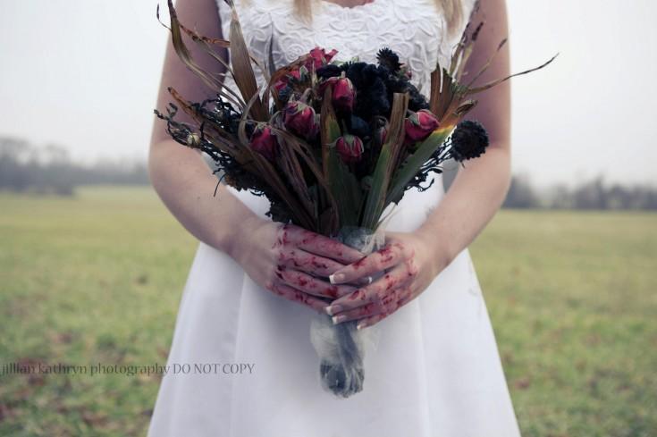 Zombie Wedding Bouquet