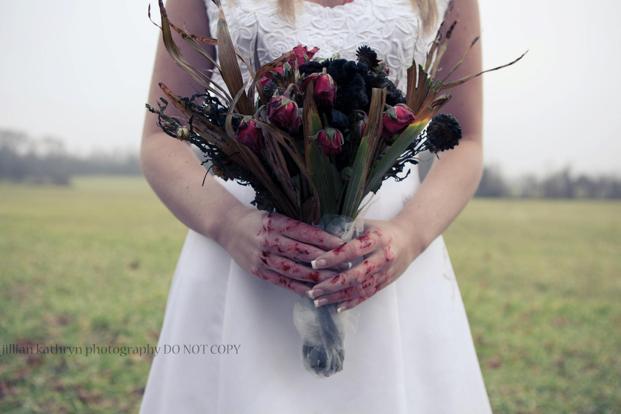 How To Create A Zombie Wedding Bouquet