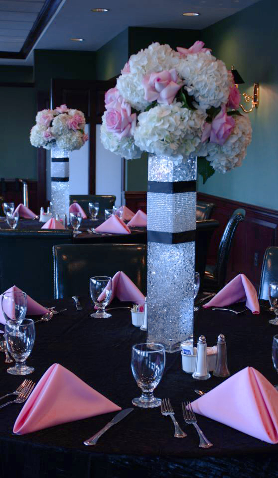 Elaborate centerpieces on pinterest tall wedding