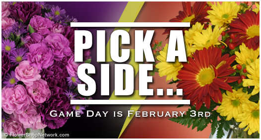 Game Day 2013 - Pick Your Side in Flowers!