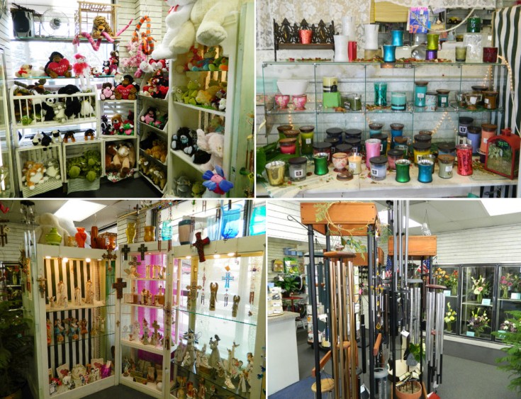 Gift Items at Flowerama