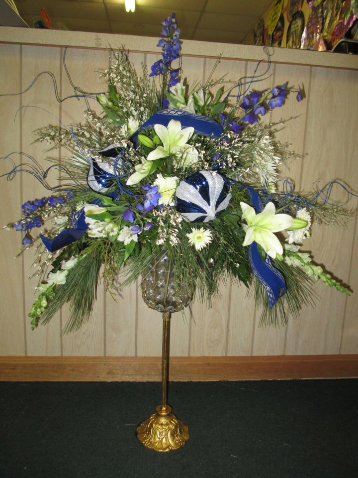 Winter flower by Libby's Flowers, Gifts & More, Elberton GA