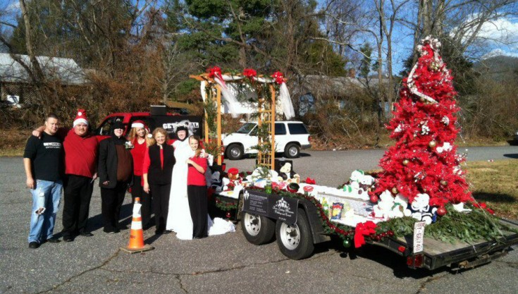 Merry Beary Christmas by Swannanoa Flower Shop, Swannanoa NC