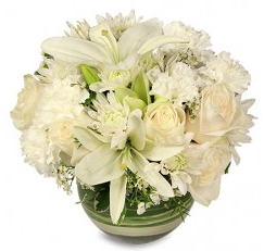 White Flowers for Romance