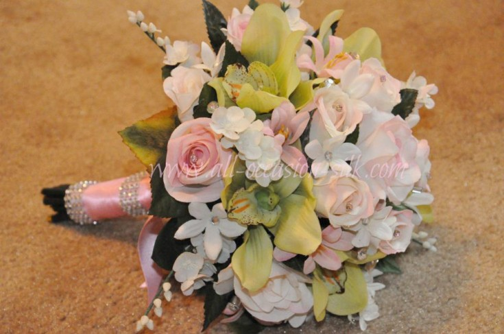 Wedding bouquet by All Occasions, Imperial PA