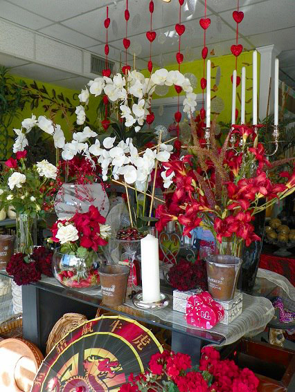 Valentines Day at Apple Blossoms Floral Design in Tampa FL