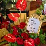 Valentine's Day flowers by Botanical Designs, Baytown TX