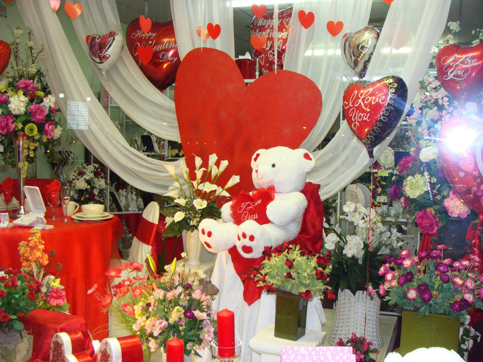 valentine's day at your local flower shop, Ideas