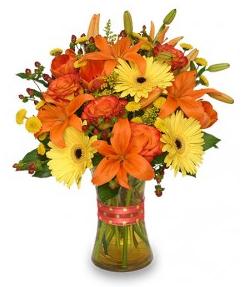 Flor-Allure Orange Flowers