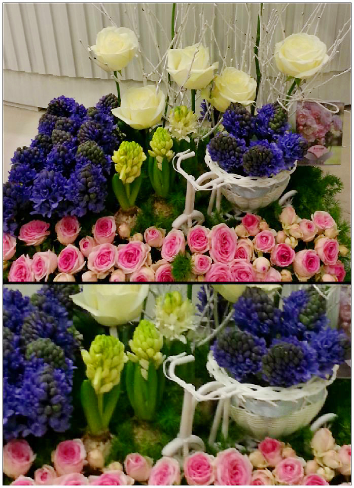 Spring scene details by Flower Palette, Abu Dhabi