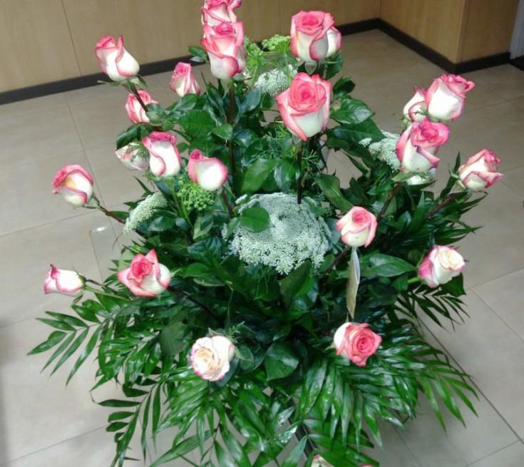 Pink Flower Arrangement from Spain