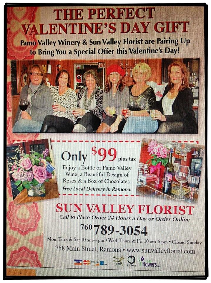 Sun Valley Florist, Ramona CA