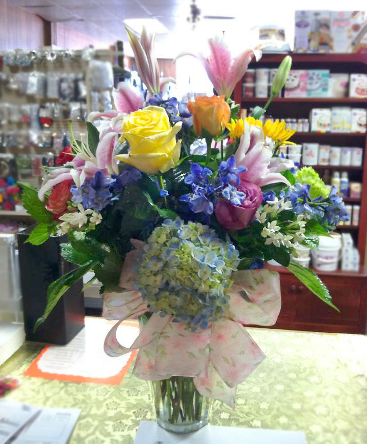 Flower arrangement by Sweet Expressions, Quitman TX