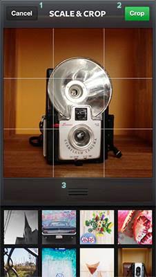 Choosing a Photo