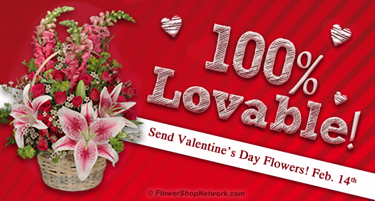Send Valentine's Day flowers from your local florist!