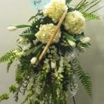 Unique sympathy flowers by Bentley Florist, Burton MI