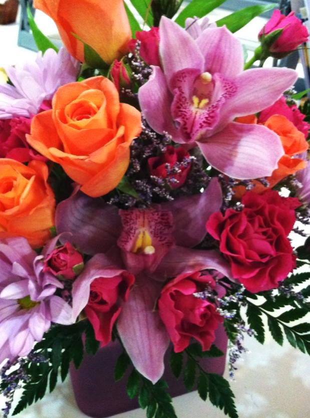 Fab spring design by Bev's Floral & Gifts, Parowan UT